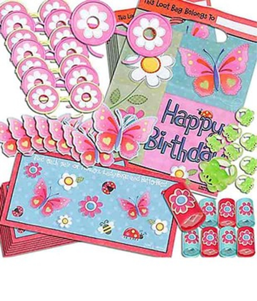 Garden Party Girl 48 Piece Favour Pack