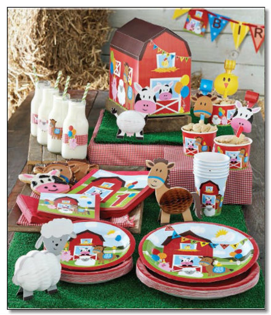 Farmhouse Fun 22.2cm Dinner Plates - 8 Pack