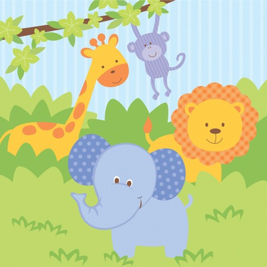 Forest Friends Animals Luncheon Napkins - 16 Pack