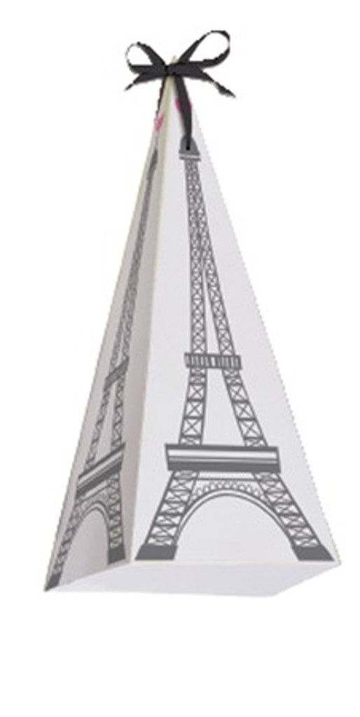 Party in Paris Eiffel Tower Treat Boxes - 8 Pack