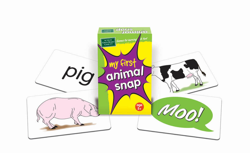 My First Animal Snap Cards