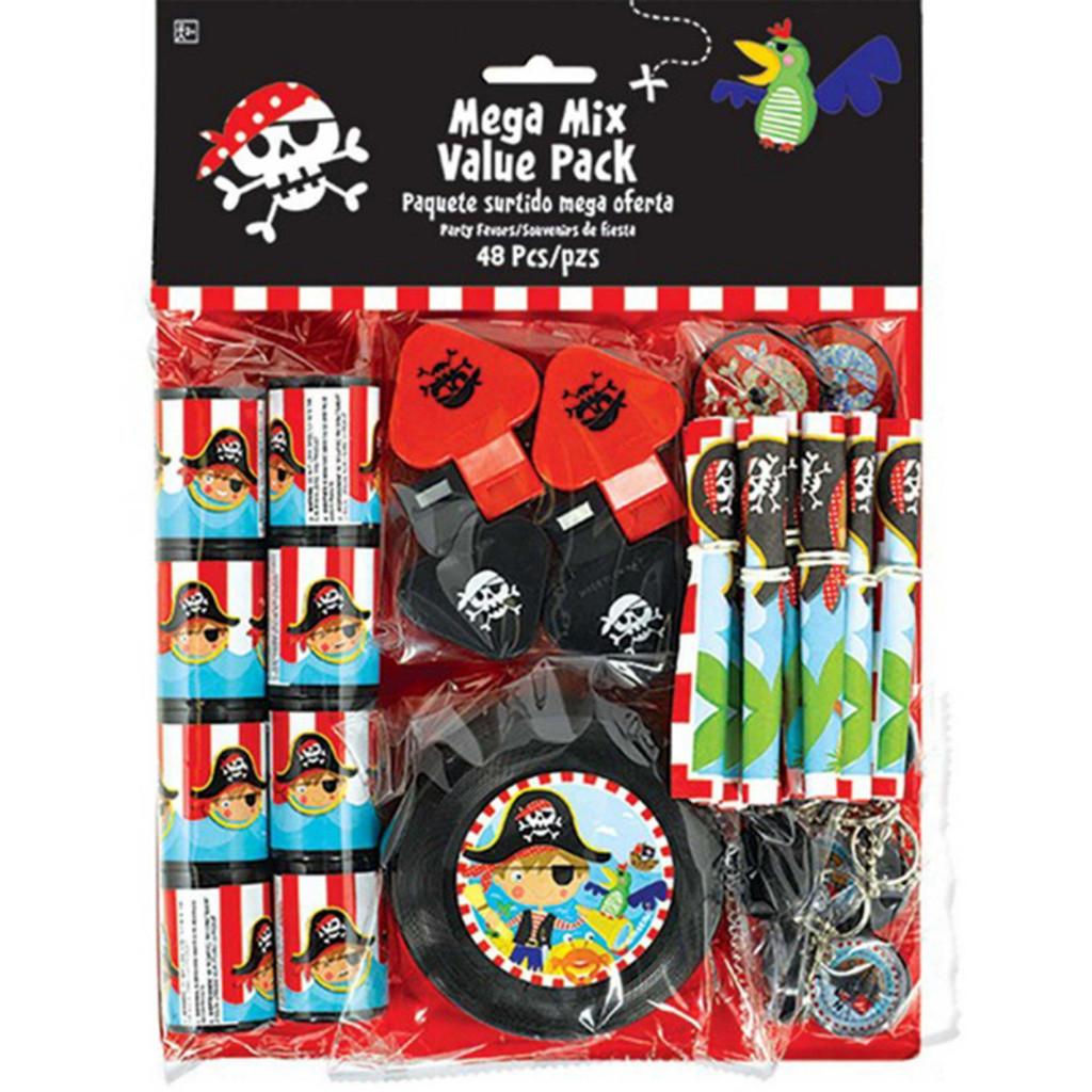 Little Pirate Favour Mega Mix Value Pack - 48 Piece