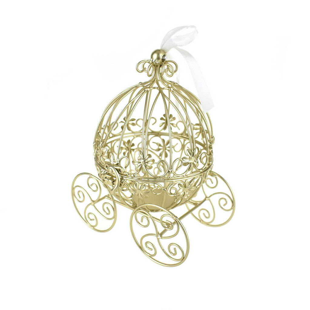 Gold Wire Fairytale Carriage