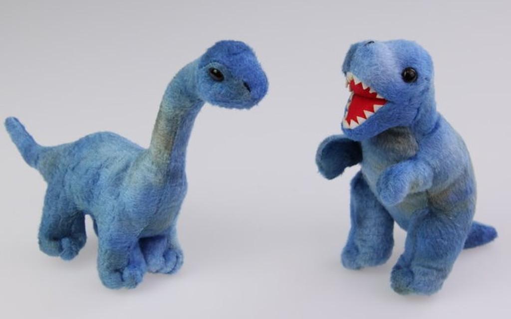 15cm Dinosaur Plush in 6 Assorted Designs