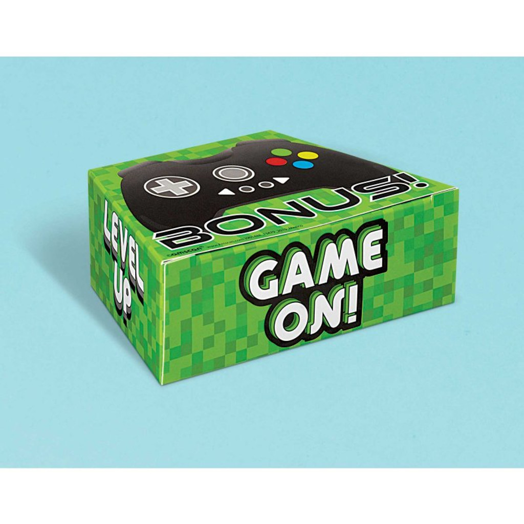 Level Up Gamer Favour Boxes - 8 Pack