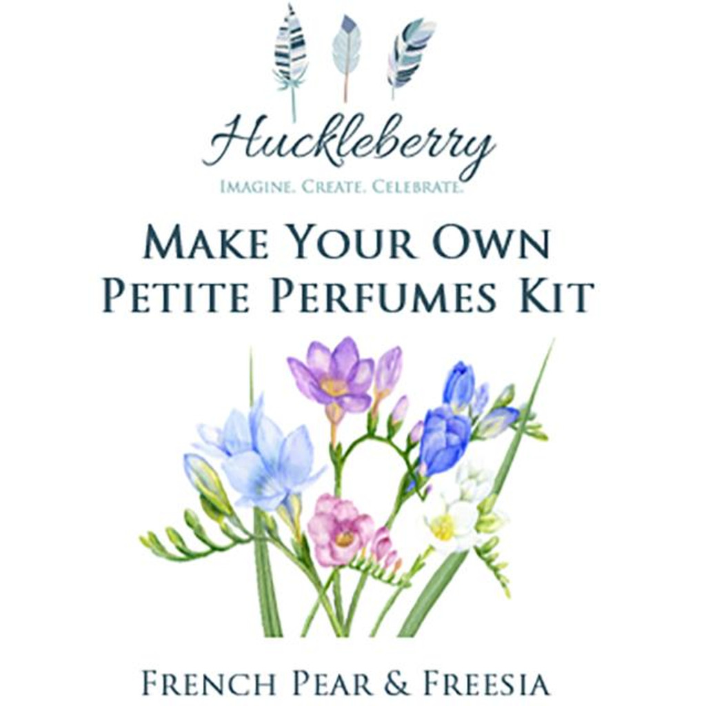Make Your Own Petite Perfumes Kit - French Pear & Freesia Scent