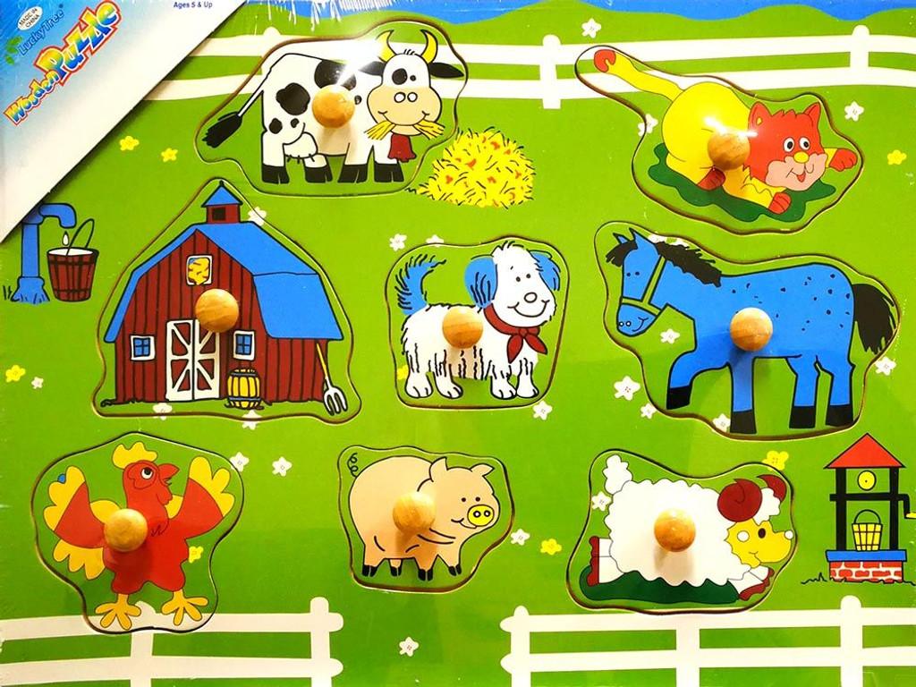 Farm Wooden Puzzle