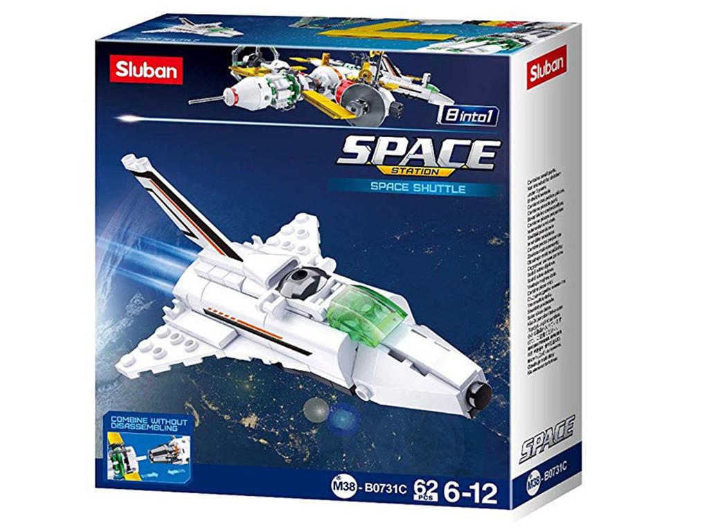 Sluban Bricks Space Shuttle - 62 Pieces