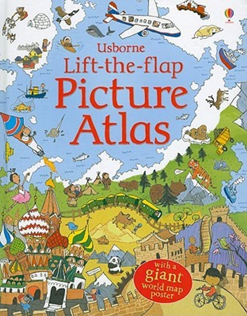Usborne Lift-The-Flap Picture Atlas