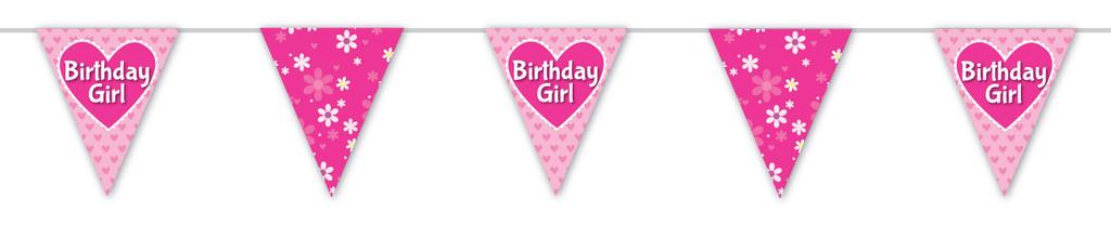 Birthday Girl Party Bunting - 190 cm