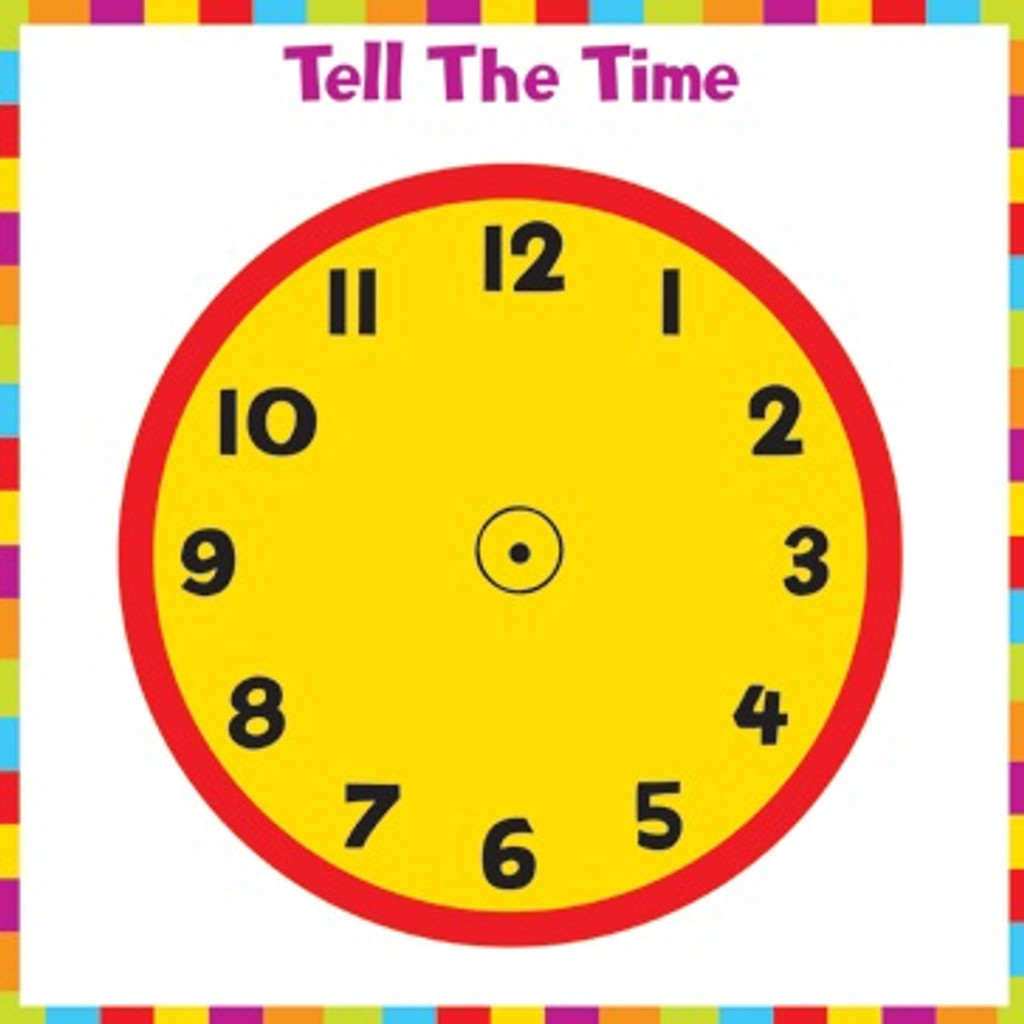 Tell the Time Puzzle - 40 Pieces
