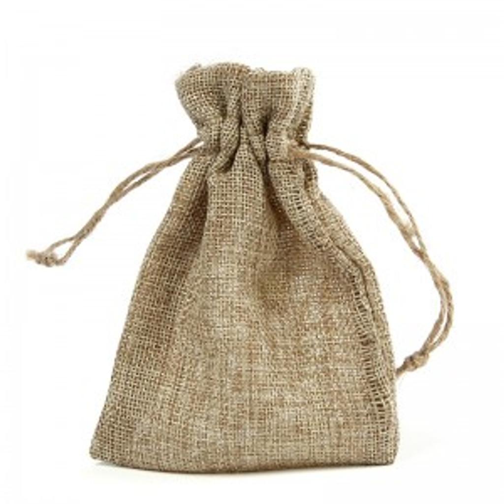 Hessian Favour Bag - Approx Size: 10 x 14cm