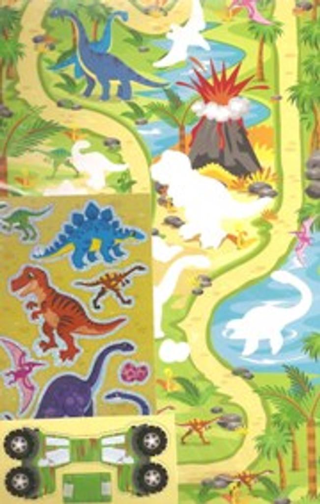 Sticker Board Playset - Jungle