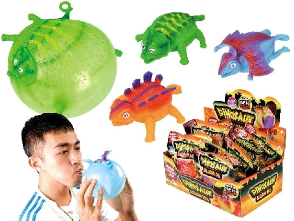 Dinosaur Balloon Ball - 4 Assorted Designs