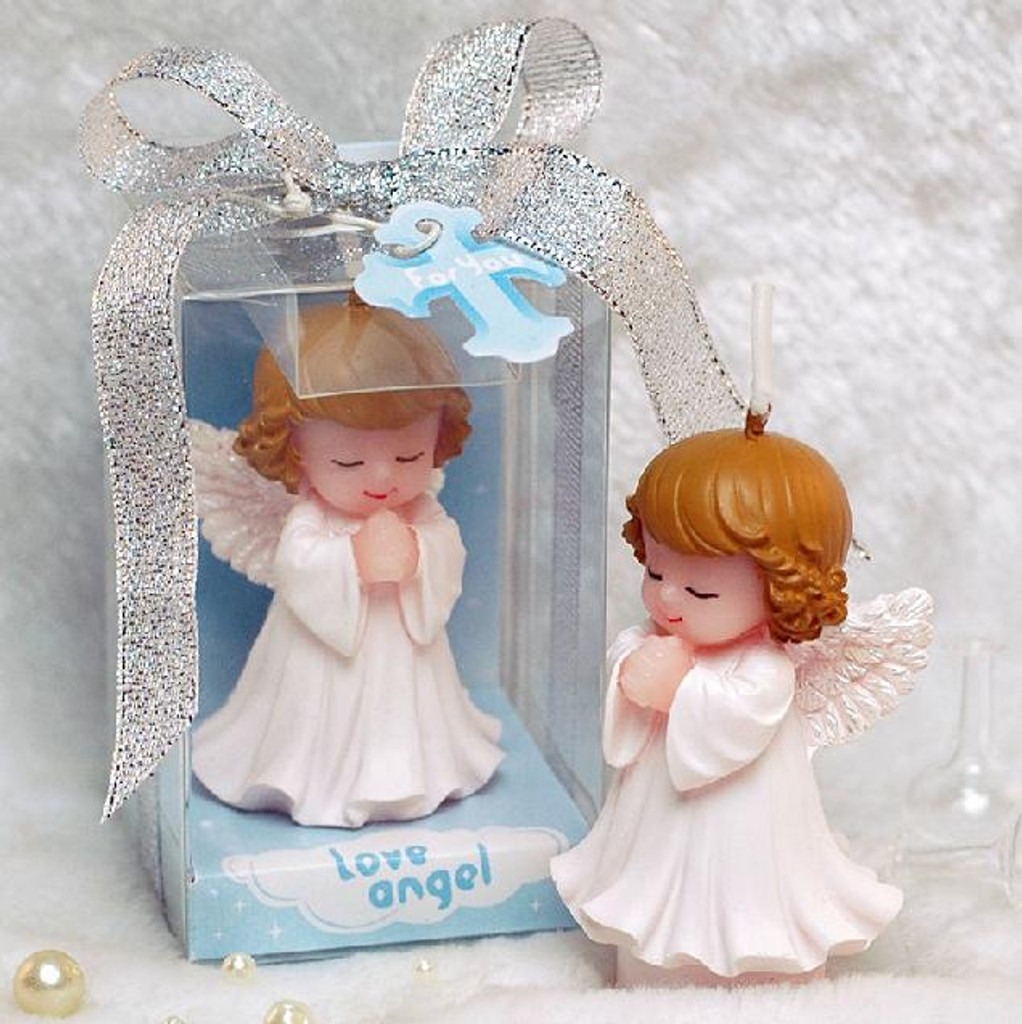 Angel Praying Candle Favour