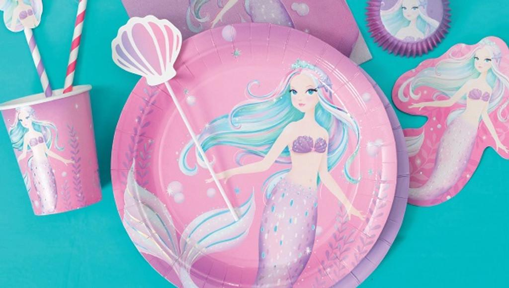 Mermaid Tail Glitter Cake Topper