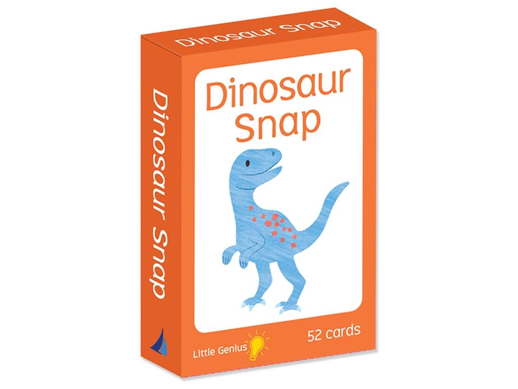 Little Genius Dinosaur Snap Card Game