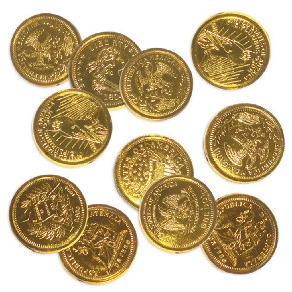 Gold Coins - 16 Pack