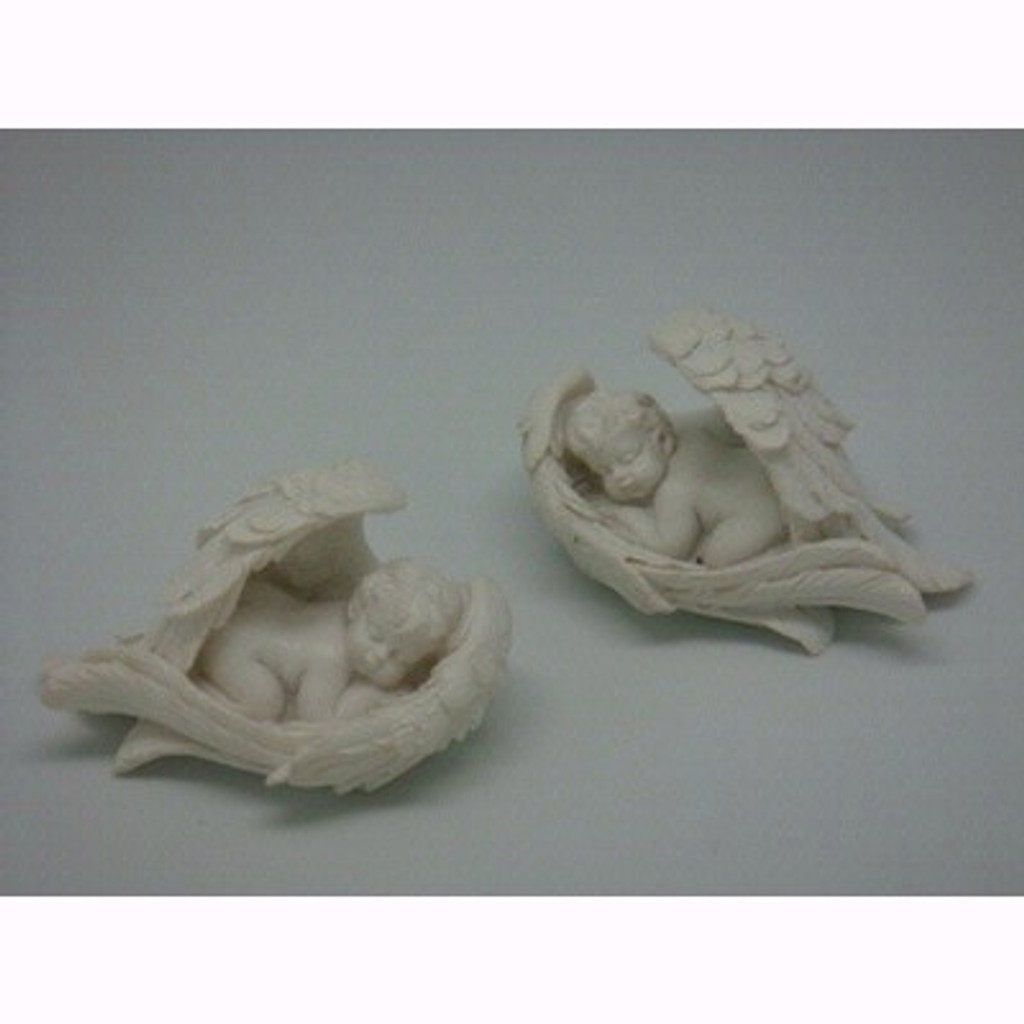 Angel Sleeping Inside Wing - 5cm (2 Designs)