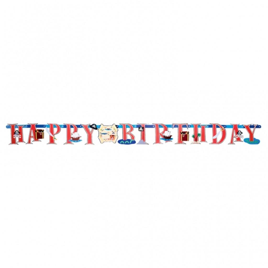 Pirate Jumbo Letter Banner Kit