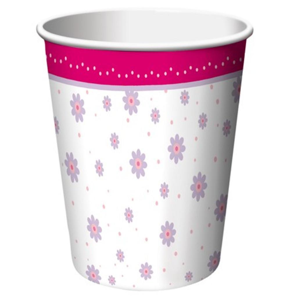Ballerina Tutu Cups - 8 Pack