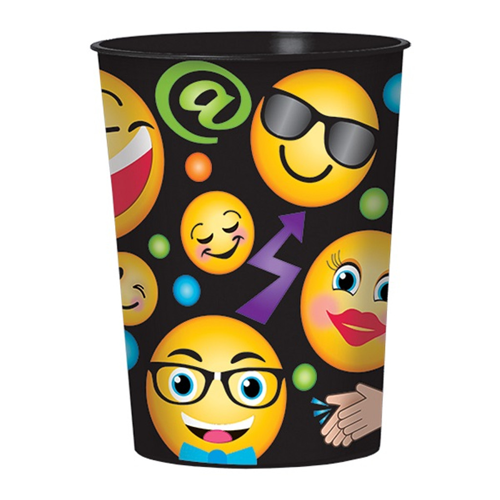 LOL Emoji Plastic Souvenir Cup
