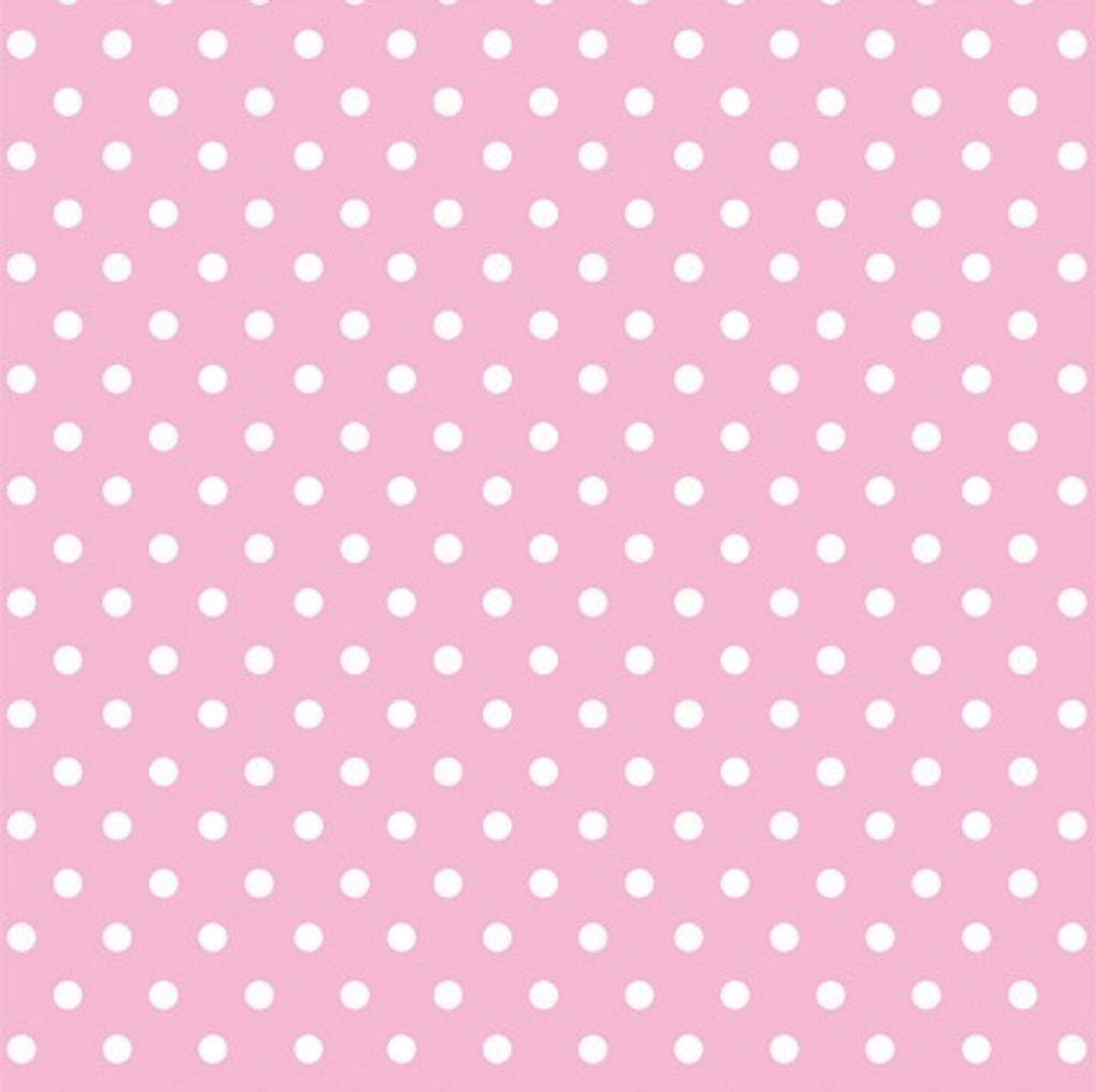 Pink Dots Folded Wrapping Paper
