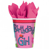 Garden Party Girl Cups - 8 Pack