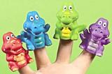 Crocodile Finger Puppet