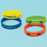Prehistoric Dinosaur Favour Bracelets - Pack of 4