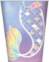 Mermaid Tail Party Cups - 8 Pack