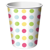 Sweet Treats Cupcakes 266ml Hot/Cold Cups - 8 Pack