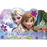 Disney Frozen Party Invitations and Envelopes - 8 Pack