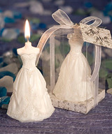 Wedding Gown Candle