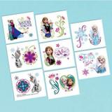 Disney Frozen Tattoos - 16 Pack