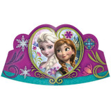 Disney Frozen Tiaras with Glitter - 8 Pack
