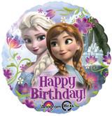 Disney Frozen Happy Birthday Foil Balloon - 45cm