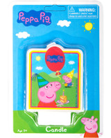 Peppa Pig Cake Candle