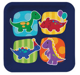 Little Dinosaur Dinner Plates - 8 Pack