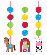 Farmhouse Fun Hanging Cutouts - 3 Pack