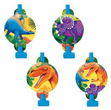Prehistoric Dinosaur Blowouts - Pack of 8