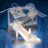 Fairytale Shoe Candle Favour