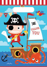 Pirates Life Loot Bags - 10 Pack