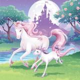 Unicorn Fantasy Luncheon Napkins - 16 Pack