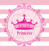 Pink Princess 121.92 x 223.52cm Plastic Tablecover
