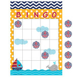 Ahoy Matey Bingo Baby Shower Game