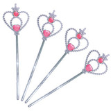 Princess Wands - 4 Pack