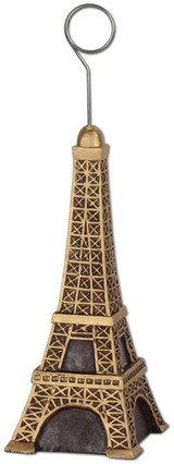 Eiffel Tower Photo Holder & Balloon Weight