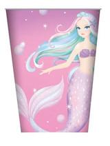 Mermaid Party Cups - 8 Pack