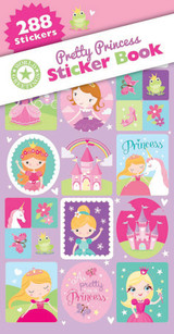 Pretty Princess Sticker Book - 12 Sheets